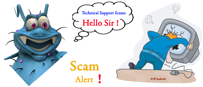 How to avoid tech support scam by phone call