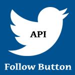twitter follow button api